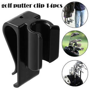 14Pcs/Set Golf Bag Clip On Putter Clamp Holder Putting Organizer Club YA88