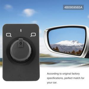 Side Mirror Switch Control Knob Button for Audi A3 8L1 A6 Avant 4B C5 1997-2004 4B0959565A 4B0 959 565A(China)