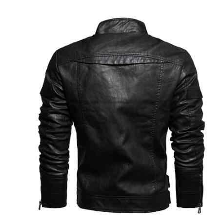 2011 veste en cuir homme-café racer senior cuir en détresse veste de moto