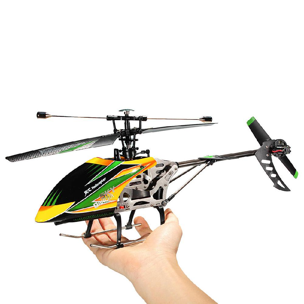 Studyset WLtoys V912 Sky Dancer 4CH RC Helicopter With Gyro BNF (Without Remote Control, EU Standard)