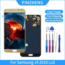 PINZHENG 100% Original LCD For Samsung Galaxy J4 2018 J400 J400F J400F/DS LCD Display Touch Screen Assembly Replacement Parts