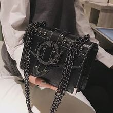 все цены на Vintage Flap Women Shoulder Crossbody Bags Casual women Handbags Female Clutches Ladies Chain Messenger Bag Tote Quality 2019 онлайн