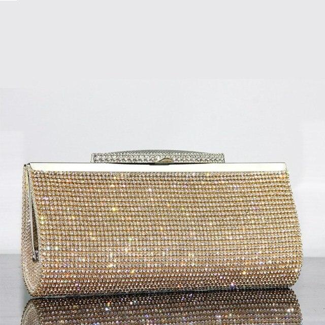 Luxury Diamond Embellished Rhinestone  Mini Handbag  1