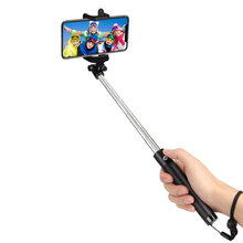 Universal Selfie Stick Bluetooth Remote Tripod for IPhone X XR XS Max 8 7 6 Plus Samsung Android Phone Camera Stand Selfiestick(China)