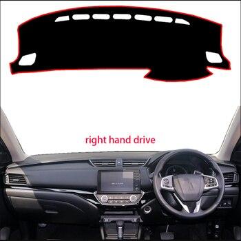 แดชบอร์ดรถสำหรับ Honda crider 2019 ไดรฟ์มือขวา Dashmat Pad Dash Mat ครอบคลุมแดชบอร์ด