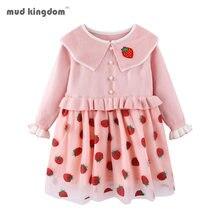 Детское платье свитер для девочек на весну осень