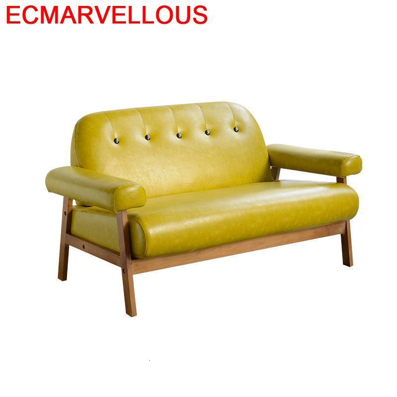 Puff Para Pouf Moderne Meuble Maison Copridivano Futon Divano Wood De Sala Mobilya Mueble Set Living Room Furniture Sofa