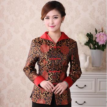 Women Tang Suit Traditional Chinese Clothing New Year Clothes Birthday Party Hanfu Tops Vintage Jacket