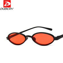 2019 Fashion Lightweight Small Oval Sunglasses Women Luxury Brand Tiny Frame Crimson Red Glasses lunette soleil femme Festival(China)