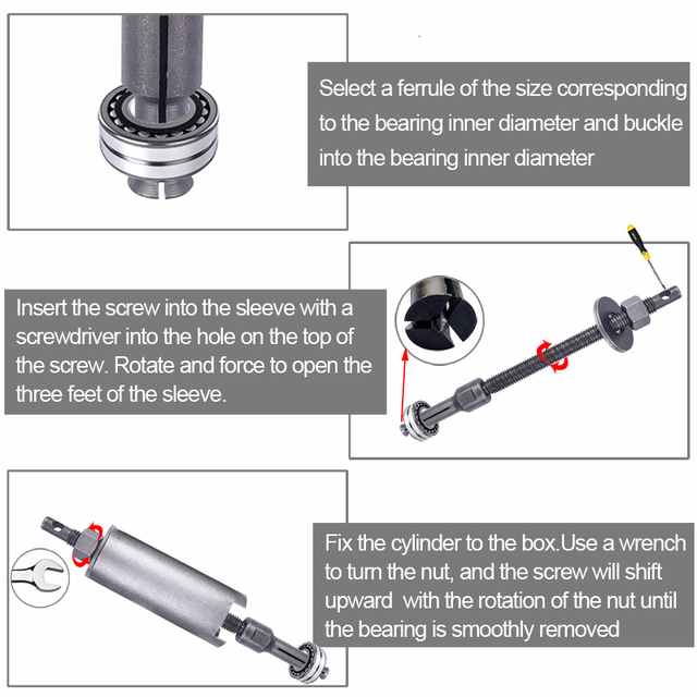 Inner Bearing Puller Tool 5