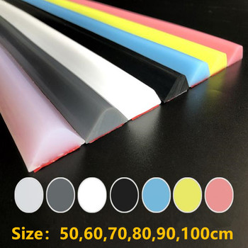 7 Colors 1M Silicone Bathroom Water Stopper Blocker Shower Dam Dry And Wet Separation Flood Barrier Door Bottom Sealing Strip