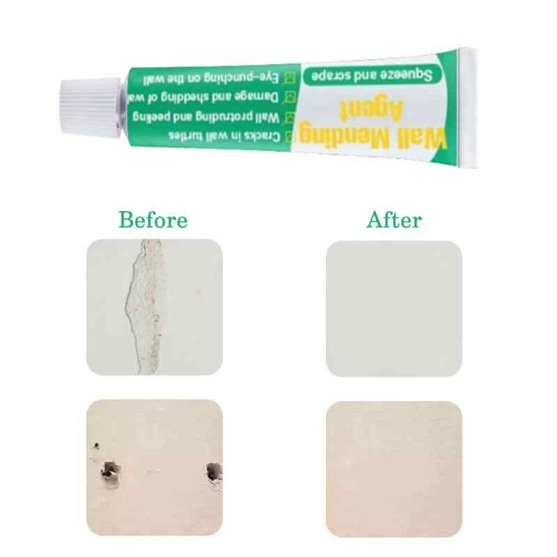 20ml Wall Repair Paste Cream Quick-drying Convenient Invisible Mould-proof Crack Nail Repair Adhesives Wall Mending Agent TSLM1