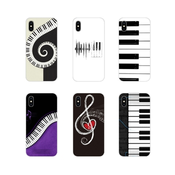 Teclas de Piano regalo de amante Musical para Samsung Galaxy J1 J2 J3 J4 J5 J6 J7 J8 Plus 2018 Prime 2015 2016 2017 accesorios fundas de teléfono