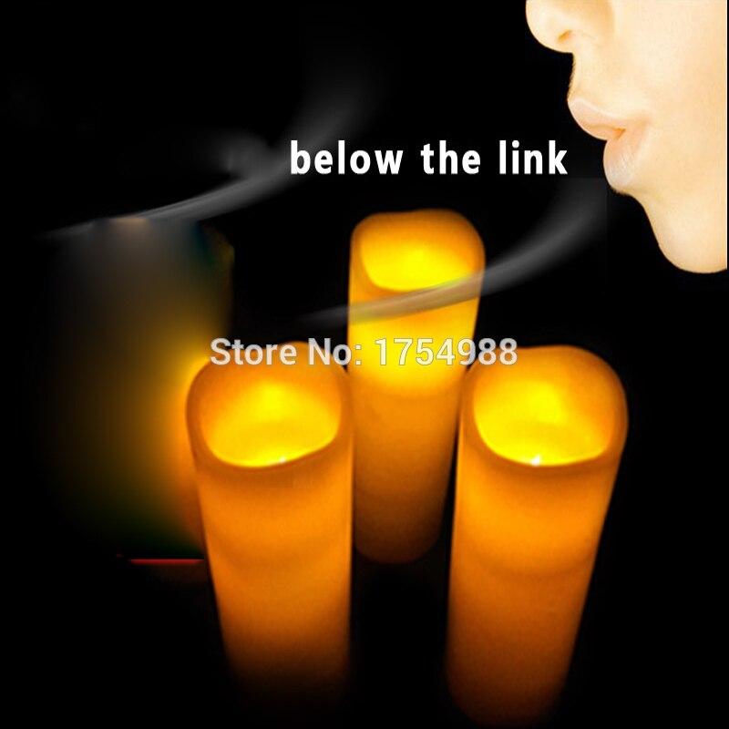 Rekwizyt do pokoju zagadek gra takagism prop zdmuchnąć świece lub w sekwencji świeca drutu, aby otworzyć drzwi lub zapalić światło