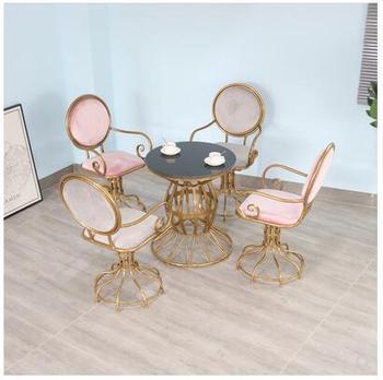 Stoły restauracyjne New era i zestaw mebli z krzesłami prostota w stylu nordyckim nowoczesny stół do jadalni wypoczynek stoły i krzesła do pokera tanie i dobre opinie Gospodarczy Nowoczesne Metal Minimalistyczny nowoczesny = 125mm