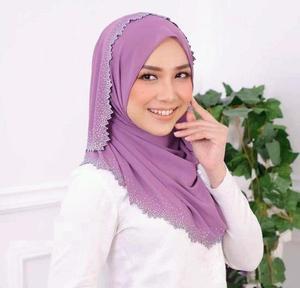 Image 4 - E2 10 pçs de alta qualidade corte a laser chiffon hijab xale cachecol feminino cachecol/cachecol senhora envoltório xale 180*75cm pode escolher cores
