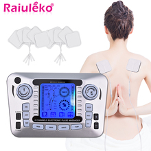 Ems Muscle Stimulator Therapy Massager Pulse Tens Acupuncture Low Frequency Physiotherapy