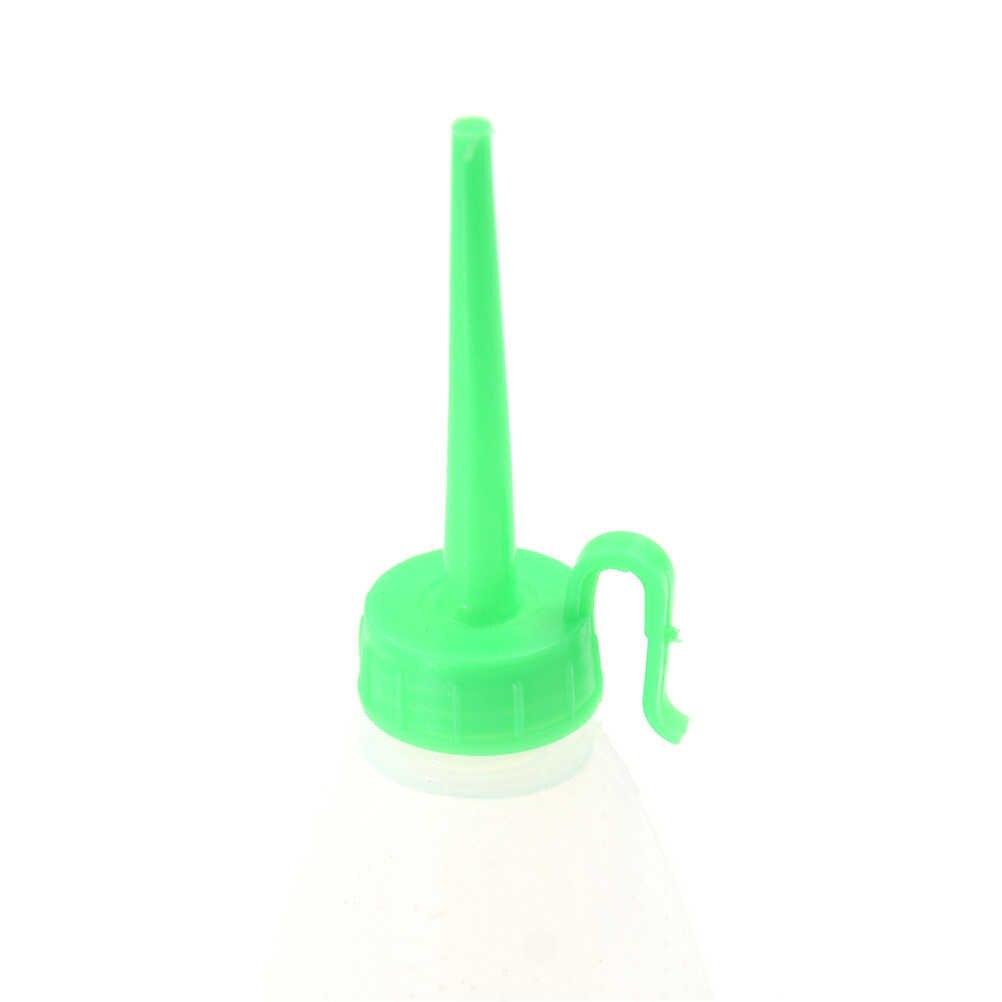 2pcs 50ml โปร่งใสเครื่องขวดน้ำมัน Polyethylene เข็มจ่ายขวดสำหรับ Rosin SOLDER FLUX PASTE