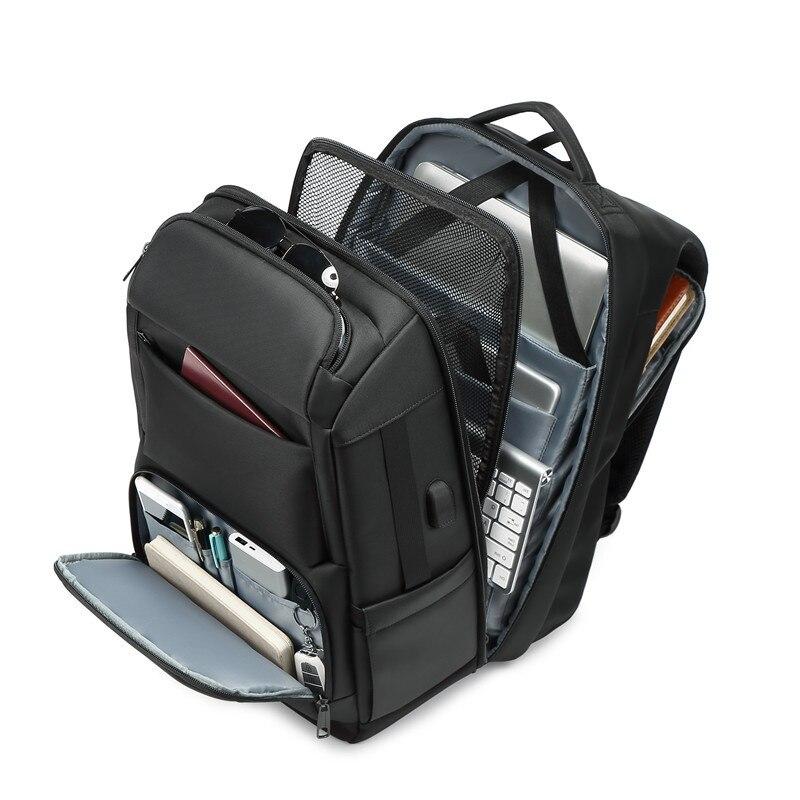 Viajar à prova d' água Grande mochila laptop 17.3 polegada 17 polegada homens mochila de viagem Sacos de Grande pacote de volta Homem 2019