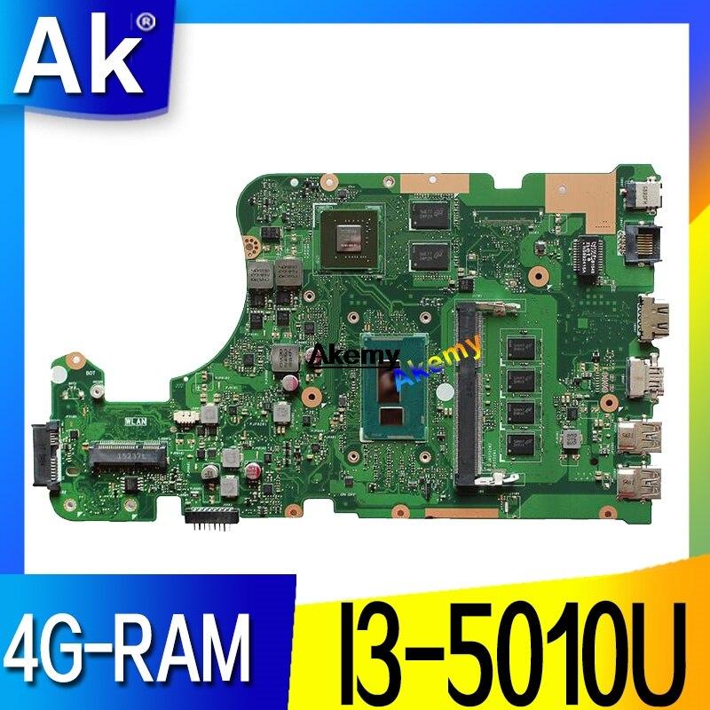 AK X555LD Laptop Motherboard For ASUS X555LD X555LDB X555LA X555LB X555L X555  Original Mianboard 4G-RAM I3-5010U