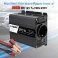 Автомобильный инвертор 12 В 220 В 500 Вт, преобразователь для ЕС, автомобильный трансформатор, автомобильный адаптер питания, приборы Webasto, 12 В, 12...