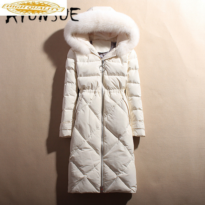 Winter Coat Women Plus Size 5XL White Duck Down Jacket Women Down Coat Korean Puffer Jacket Warm Parka 1802 YY1436