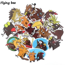 Get more info on the Flyingbee 20 pcs The Angry Beaver Sticker funny cute Stickers for DIY Luggage Laptop Skateboard Car Bicycle Stickers X0350