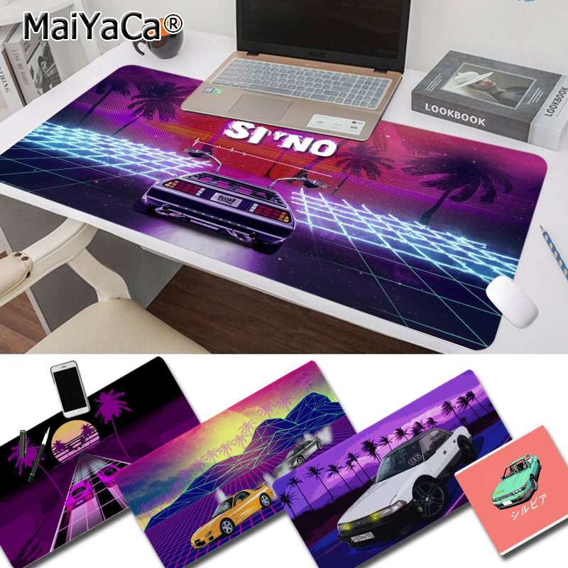 MaiYaCa Cool New INITIAL D Super car AE86 Comfort Mouse Mat Gaming Mousepad Free Shipping Large Mouse Pad Keyboards Mat image