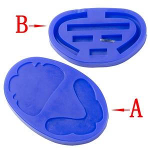 Image 1 - Dental silicone rubber wax rim slim long shape bite block individual tray implant molding mould