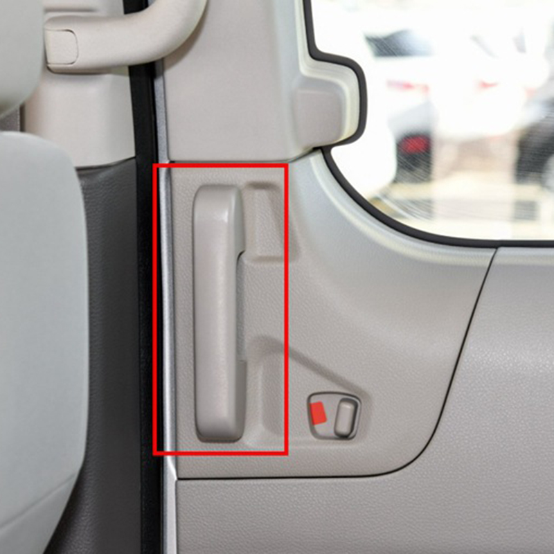 for Nissan NV200 2018 2Pcs ABS Chrome Car Door Interior Handle Bowl Protector Cover Trim Moldings Car Styling-3