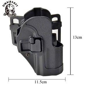 Image 3 - SINAIRSOFT CQC HK USP Belt Tactical Holster Black Paddle Right Hand or Left Hand Pistol Gun Holster For HK Compact USP