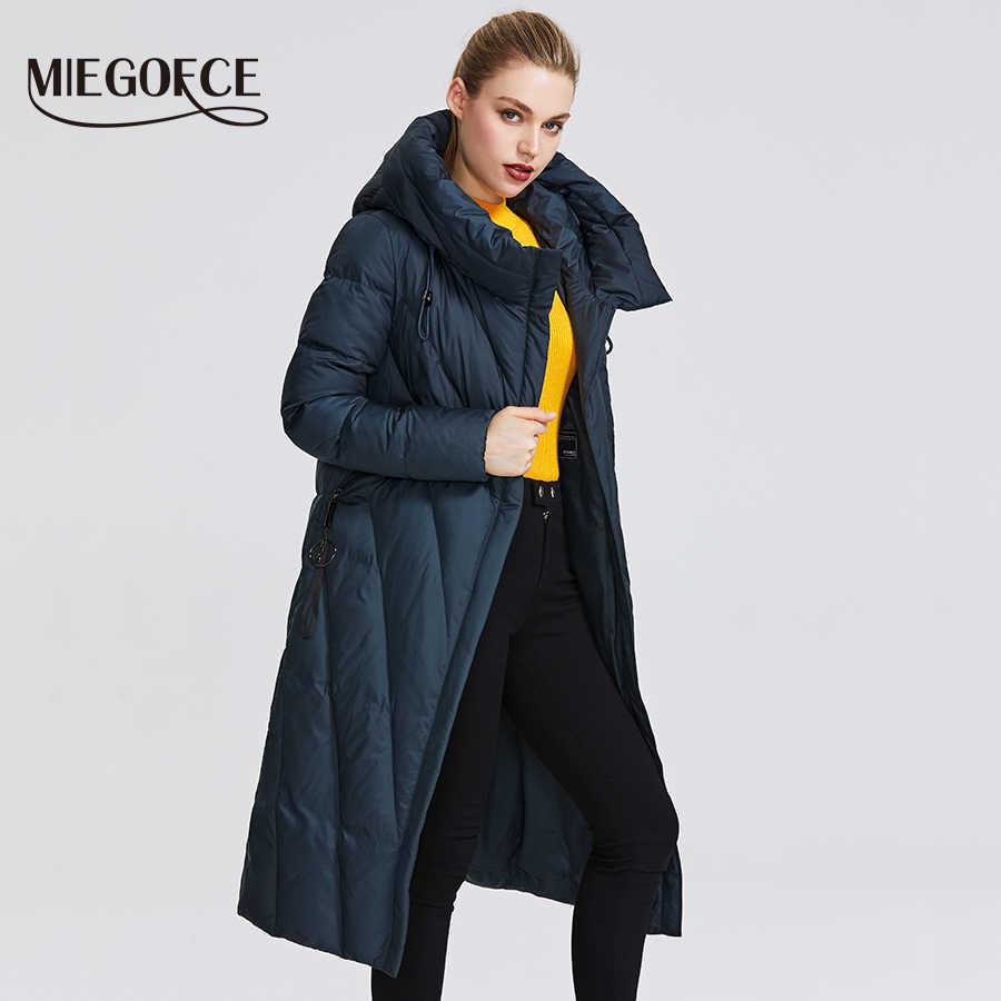 MIEGOFCE 2019 Neue Kollektion Frauen Mantel Mit einem Beständigen Winddicht Kragen Frauen Parka Sehr Stilvolle frauen Winter Jacke