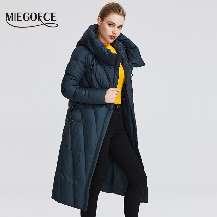 MIEGOFCE 2020 New Collection Women Coat With a Resistant Windproof Collar Women Parka Very Stylish Women