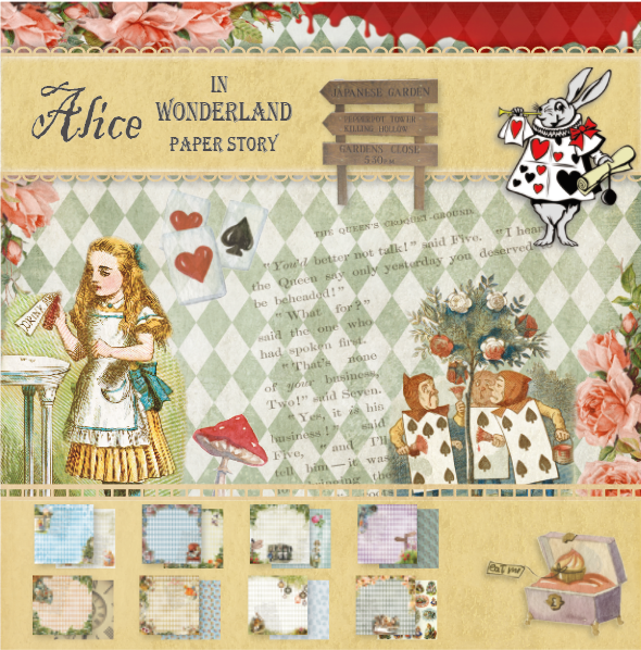 10set/1lot Kawaii Stationery Stickers Vintage Alice Diary Planner Decorative Stickers Scrapbooking DIY Craft Stickers