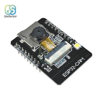 цена на ESP32-CAM ESP32-S WIFI Bluetooth Board OV2640 2MP Wireless Camera Module TF Card Slot Wireless Expansion Module for Arduino