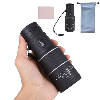 Original binoculars Monocular high quality Telescope Pocket Binoculo Hunting Optical Prism Scope no tripod binoculars 10x25 bak4 prism high ble hunting telescope pocket scope for sports