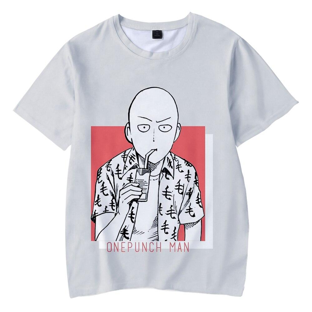 High Quality 3D Print One Punch Man Season 2 T shirt Children Men/Women Summer Cool Short Sleeve T-shirt Kids Clothes