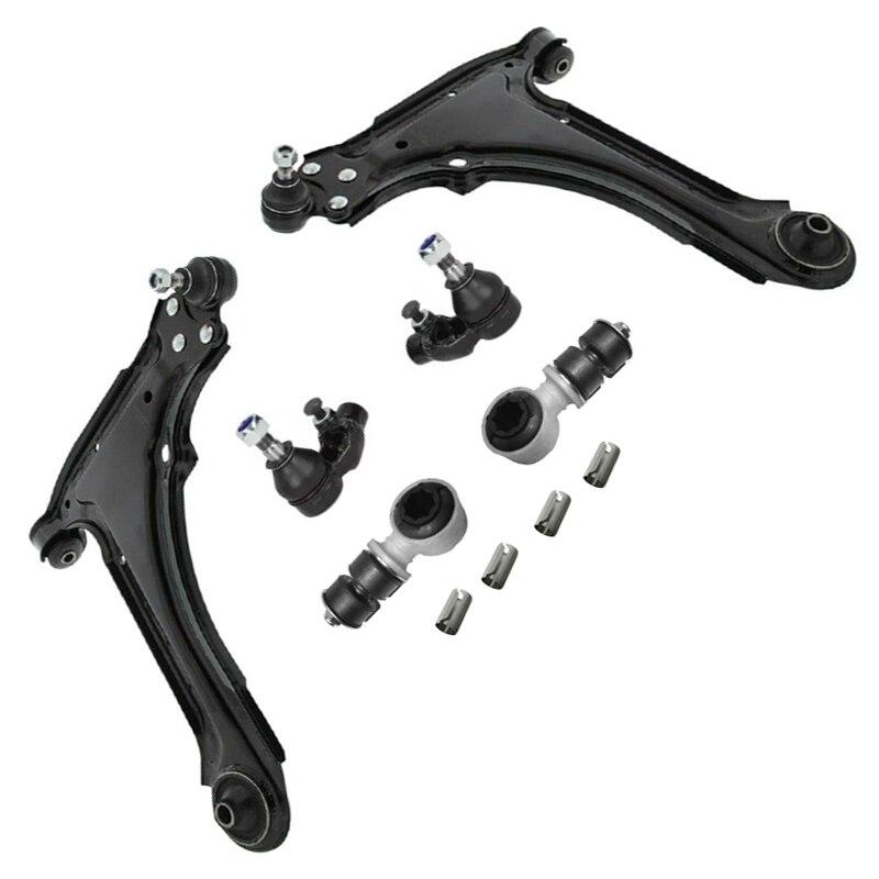 10 adet/takım araba yedek parçaları süspansiyon kontrol kolu Opel Astra F için 0324 055 0352 192 0350 260