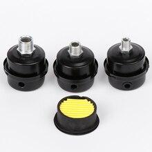 12,5 мм 16 мм 20 мм воздушный компрессор запасные Запчасти металлический приемный фильтр для воздушного компрессора шумоподавления мультипечь для приготовления пищи без глушитель воздуха с фильтрующей нитью M12