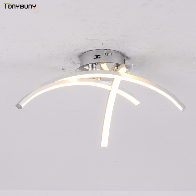 بسيط الألومنيوم أضواء السقف ل غرفة المعيشة المنزلي غرفة نوم المطبخ مصباح السقف المنزل نجف يُعلق بالسقف تركيبات AC110V 220 فولت