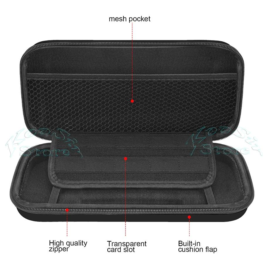 Prenosna ročna torba za konzolo Nintendo Switch konzola EVA dodatki - Igre in dodatki - Fotografija 3