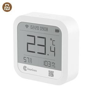 Image 1 - Метеостанция клирграсс точный прогноз температуры датчик гумидит цифровые часы умный клирграсс Wifi управление приложением