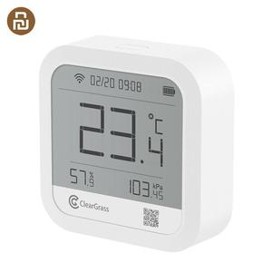 Image 1 - Cleargrass Weather Station Precision Forecast Temperature Humidit Sensor Digital Clock Smart Cleargrass Wifi APP Control