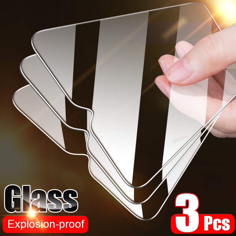 Full Cover Glass On Xiaomi Mi 10 9 Lite 9T Pro Tempered Glass For Xiaomi A3 A2 A1 8 Lite 9 SE Pocophone F1 Screen Protector Film(China)
