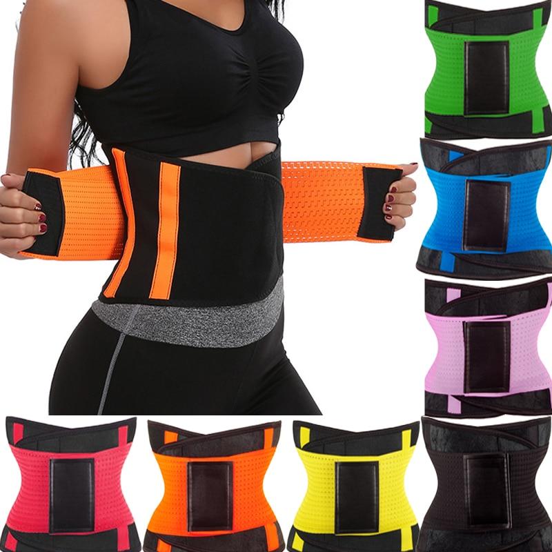 Sweat Belt Modeling Strap Waist Cincher For Women Modeling Strap Waist Trainer Belly Slimming Belt Shaperwear Tummy Control