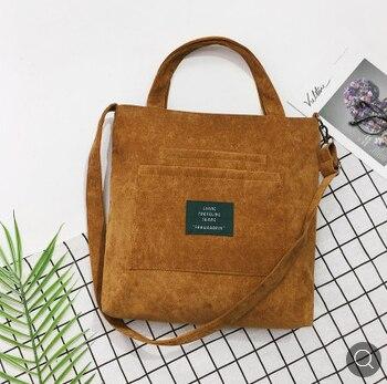 2019 Single Shoulder Messenger Strap Zipper Bag Women Casual Cotton Canvas Bag Eco Messenger Bag Women Retro Messenger Bag