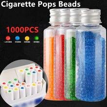 1000 pçs cigarro pops contas frutas café hortelã sabor cigarro titular fumar acessórios garrafa titular do cigarro filtro