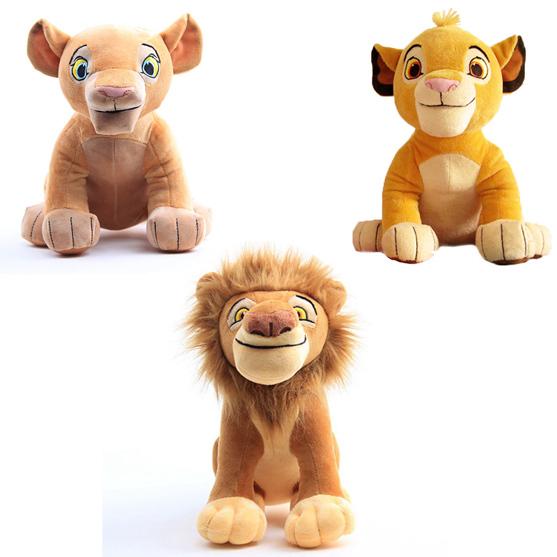 The Lion King Simba Nana Mufasa Plush Doll Toys Anime Movie Doll Simba Soft Plush  Stuffed Animal Toy Children Christmas Gifts