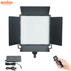Godox LED1000C Studio Video Light Lamp Wireless Remote Changeable Version 3300K-5600K for Camera Camcorder
