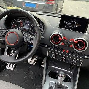 Image 5 - Araba hava firar çıkışı dağı standı klip telefonu tutucu Audi A1 A3 evrensel cep telefonu yerçekimi braketi iphone android